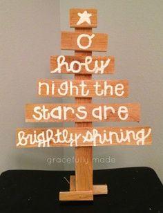 cute DIY christmas craft!