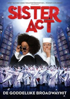 Het officiele artwork van Sister Act!