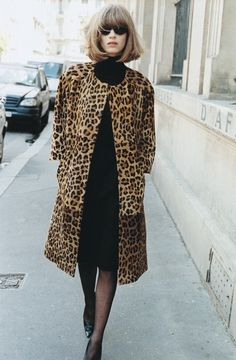 leopard coat with ♥ from JDzigner www.jdzigner.com