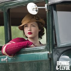 The Bonnie and Clyde movie event races to your screen December 8th on Lifetime TV! #BonnieandClyde #vintage #car