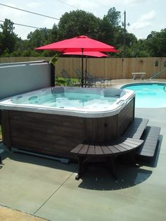 Hotspring Vista With Spastone Exterior And Wireless Entertainment Package Purchased From Oasis Hot Tub Sauna Nashua Nh
