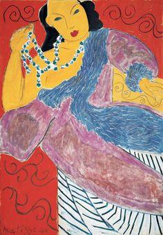 L'ASIE (ASIA) / Henri Matisse / 1946 / Oil on canvas