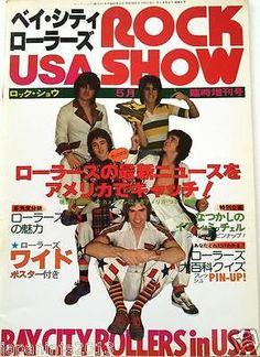 1977 Bay City Rollers in USA / Japan Music Magazine Ian Mitchell Pat Mcglynn