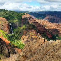 Waimea Canyon Lookout Kauai