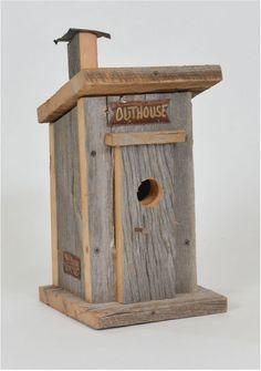 Cadeaux Tendance - Cabane à oiseaux bécosse