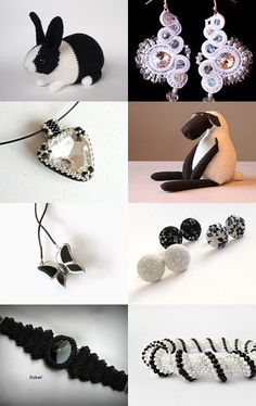 Black & White from Hungary Hungary, Beading, Black And White, Band, Etsy, Accessories, O Beads, Black White, Beads
