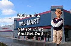 The BEST Wal-Mart greeter, EVER!!!!