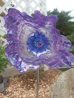 Crazy purple flower