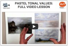 Do you struggle getting depth into your pastel paintings? Mike Howley explains how to use tonal values to their full potential in this free video. #pastelpainting