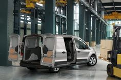 2014 Ford #Transit_Connect Open Doors
