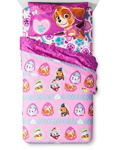 New Paw Patrol Pink Sheets for Girls * More info @ http://www.ilikeboutique.com/boutique/new-paw-patrol-pink-sheets-for-girls/?lm=300616054703