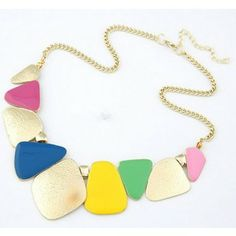 Fashion Enamel Metal Nice Collar Choker Necklaces