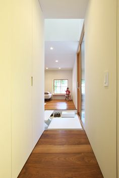 Interior shot of OH House by Takeru Shoji Architects in Japan.