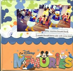Disney Memories - Scrapbook.com