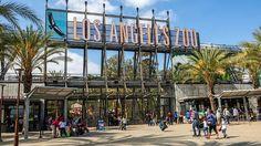 Los Angeles Zoo main entrance