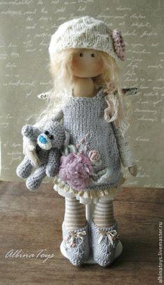 Коллекционные куклы ручной работы. Ярмарка Мастеров - ручная работа Ангел Сима. По мотивам. Handmade.