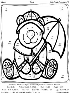 math worksheet : 1000 images about números on pinterest  maths puzzles color by  : 3 Digit Subtraction With Regrouping Coloring Worksheets