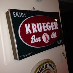 Krueger Beer and Ale sign