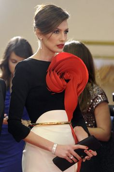 Nieves Alvarez #runway #backstage #style #fashion