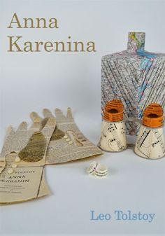 Leon Tolstoy escreveu Anna Karenina o artista britânico Jennifer Collier ilustrou a nova capa.