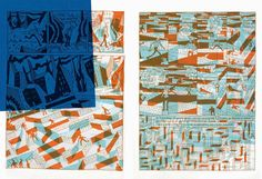 éditions polystyrène: polychromie Menu Layout, Restaurant Menu Design, Print Finishes, Layout Design, Quilts, Blanket, Projects, Student, Illustrations
