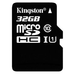 SDHC Class 4 Certified 16 Gigabyte Card for Xiaomi Mi-Two Smartphone Phone with custom formatting and Standard SD Adapter. Professional Kingston MicroSDHC 16GB