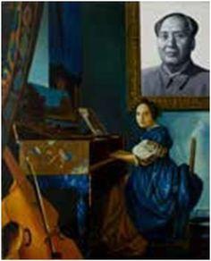 ERRÓ, Opus Mao (Hollande), 1989- Acryl auf Leinwand,Hilger Collection Holland, E Magazine, Museum, Opus, The Collector, World, Painting, Canvas, Kunst