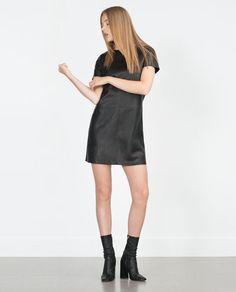 Image 1 of CUT WORK DRESS from Zara