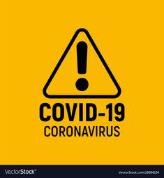 Coronavirus warning and attention icon vector image on VectorStock Gas Mask Art, Masks Art, Boys 8th Birthday, First Birthday Parties, Exclamation Mark, Flat Logo, Bansky, Skull Logo, Arya