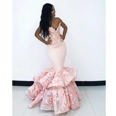 Mermaid Pink Prom Dress Sweetheart Plus Size African Prom Dress # Black Girl Prom Dresses, African Prom Dresses, Mermaid Prom Dresses, African Fashion Dresses, Pageant Dresses, Homecoming Dresses, African Formal Dress, Pink Mermaid Dress, Dinner Gowns