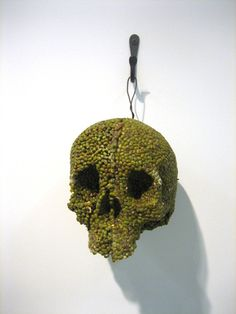 green mung bean skull