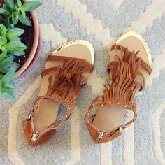 27d593bef033e 31 Best Fringe sandals images