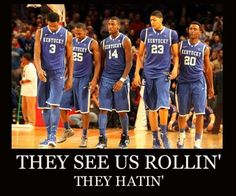 haters can hate...its UK not our fault its Gods way!