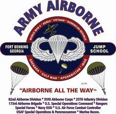 ARMY AIRBORNE: FORT BENNING-GEORGIA  UNIT & OPERATION LEFT CHEST ZIPPER #COMBINATIONJERZEESHANES #SweatshirtCrew