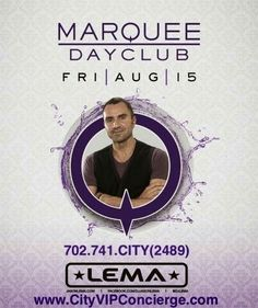 Lema Friday August 15th at Marquee Dayclub Las Vegas. 702.741.2489 City VIP Concierge for Cabanas, Daybeds, Bungalows and the BEST of Las Vegas Pool Parties. #MarqueeDayclub #LasVegasPoolParties #VegasPoolParties #VegasCabanas #CityVIPConcierge CALL OR CLICK TO BOOK http://cityvipconcierge.wantickets.com/Events/160888/Lema-at-Marquee-Dayclub/