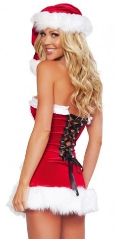 sexy santa outfits ¸.•♥•. www.pinterest.com/WhoLoves/Christmas ¸.•♥•.¸¸¸ツ #Christmas