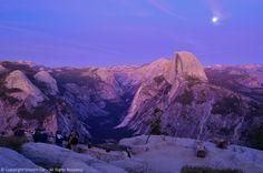 Half Dome, Moonrise