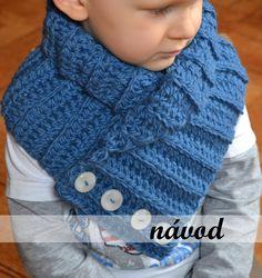 """Návod na háčkovanou šálu """"límcová záležitost"""" / Zboží prodejce jana_joan Knitting, Crochet, Tricot, Breien, Stricken, Ganchillo, Weaving, Knits, Crocheting"""