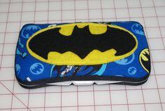 Batman Superhero Covered Baby Wipes Case Baby by Sweetstylesstore, $8.00