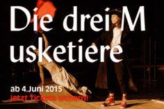 """""""Die drei Musketiere"""" - Ein Spektakel von Jérôme Savary nach dem Roman von Alexandre Dumas - Thalia Theater Hamburg"""