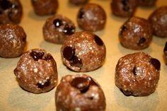 Chocolate Cookie Dough Protein Balls