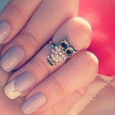 Cute ~ owl ring