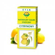 Eteryczny Olejek Cytrynowy 10 ml ETJA