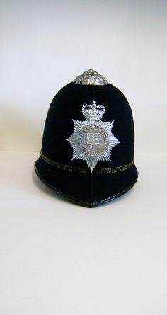1960s English Police Helmet British Transport by BiminiCricket, $235.00