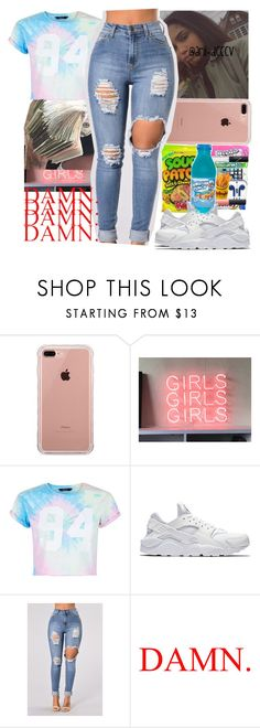 """!!"" by arii-dcccv ❤ liked on Polyvore featuring Belkin, New Look and NIKE"