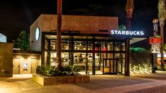 Starbucks store at Disneyland, Orlando – Florida Orlando Florida, Downtown Disney Orlando, Walt Disney, Starbucks Locations, Starbucks Store, Retail Facade, Logo Restaurant, Facade Design, Sustainable Design