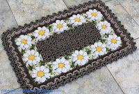 patricia crochetando: labirinto com barbante duas cores