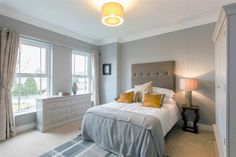 House Type K, 41 Eaton Park, Belfast #newdevelopment #masterbedroom #bedroom #northernireland #forsale #newbuild #propertynews Eaton Park, Semi Detached, Types Of Houses, Belfast, New Builds, Property For Sale, Master Bedroom, Furniture, Home Decor