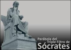 La parábola del triple filtro de Sócrates como protocolo de Comunicación | Apertura Tarjeta Sócrates | Artículo completo: http://sharingideas-josecavd.blogspot.com.es/2014/10/la-parabola-del-triple-filtro-de.html