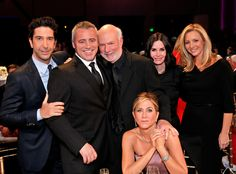 The One With Five Friends & a Jimmy Burrows from NBC's James Burrows Special: The Mother of All Reunion Shows  David Schwimmer, Matt LeBlanc, James Burrows, Jennifer Aniston, Courteney Cox, and Lisa Kudrow